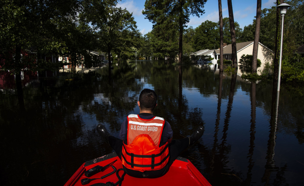 Hurricane Florence: Swelling rivers and fresh evacuation orders, North Carolina struggles
