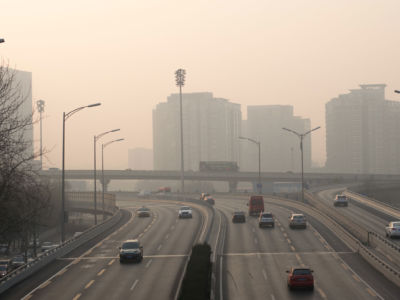 In cities like Beijing, China, serious air pollution impacts the health of millions.