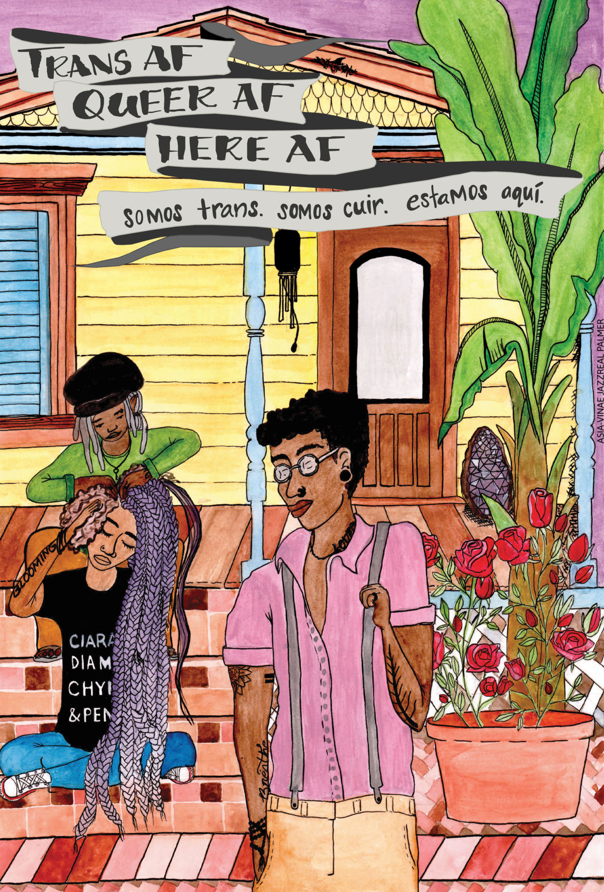 """From the Porch"" by Asia-Vinae ""Preach"" Palmer"