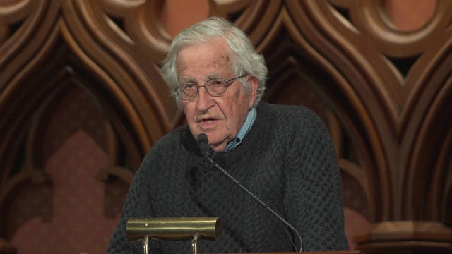 Noam Chomsky on Fascism, Nuclear Weapons, Climate Change and Julian...