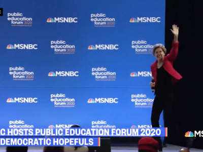 Democratic 2020 Candidates Focus on Public Education at Historic Forum