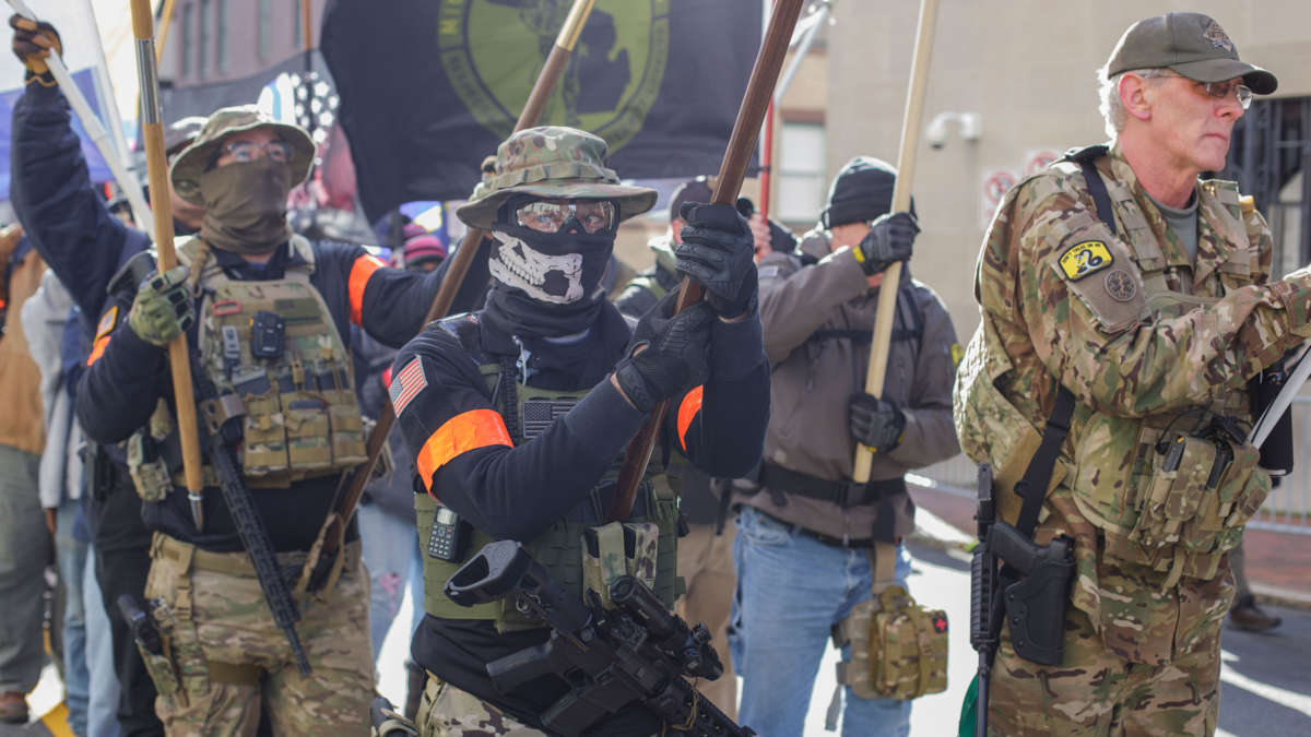 Far Right Groups Are Rallying Virginia Counties to Form Militias