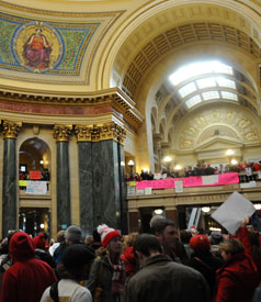 Wisconsin: Health Care, Democracy and the Middle Class Are at Stake