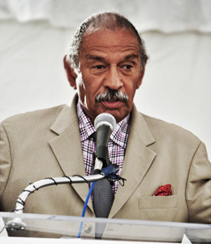 Conyers Calls For Firing of FBI Officials