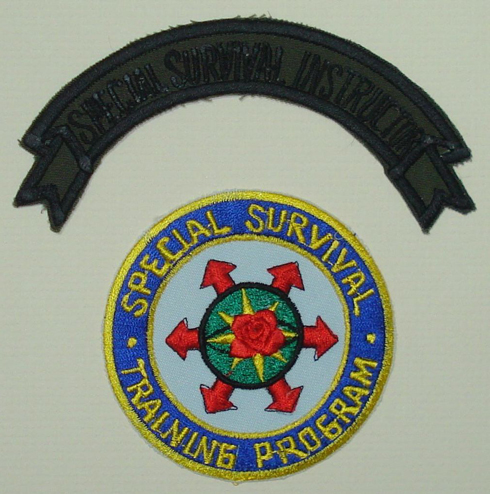 The official patch of the Special Survival Training Program
