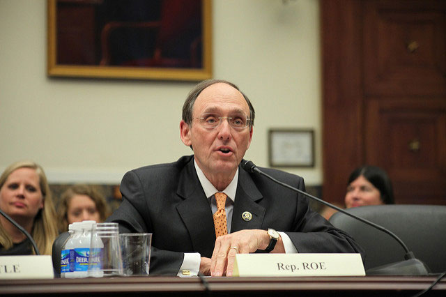 U.S. Rep. Phil Roe testifies at a hearing on May 12, 2009. (Photo: House Committee on Education and the Workforce)