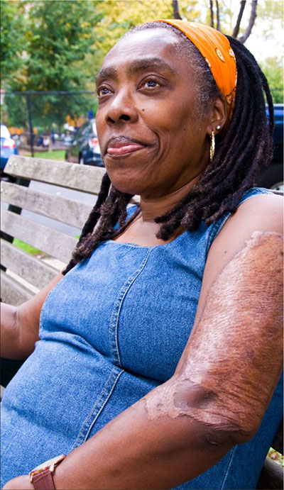 Ramona Africa, sole living survivor of U.S. bombing of the MOVE home in Philadelphia.