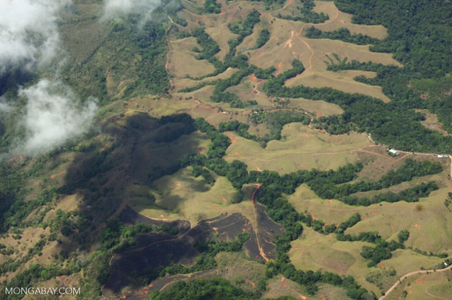 Aerial view of forest fragments in Costa Rica. Photo by Rhett A. Butler for Mongabay.