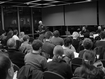 A general membership meeting for Fight Back Pittsburgh. (Image: <a href=