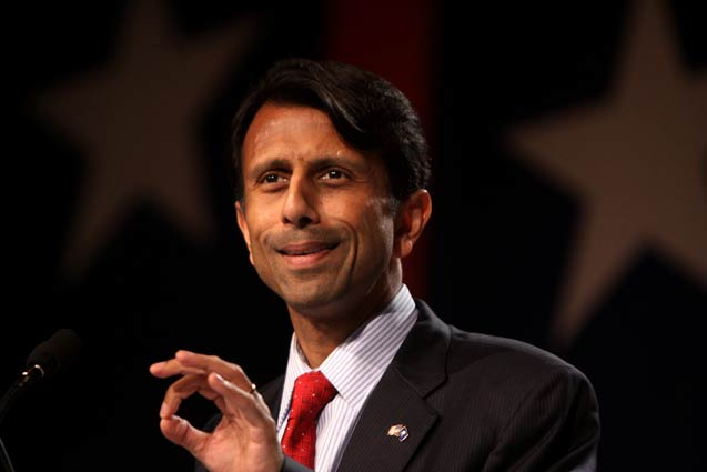 Governor Bobby Jindal speaking at the Values Voter Summit in Washington, DC.