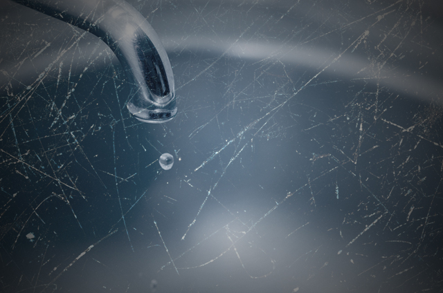 (Photo: Dripping Faucet and Scratched Texture via Shutterstock; Edited: LW / TO)